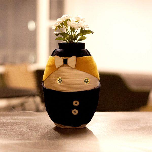Tessa de mini robot