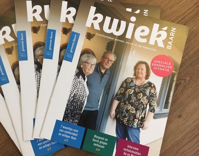 KWIEK magazine voor 60+ers in Baarn